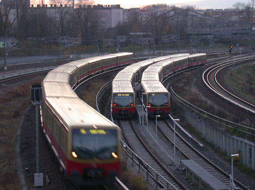 S-Bahn - City-Trains Berlin