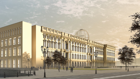 Humboldtforum Berlin City Palace architecture rendering