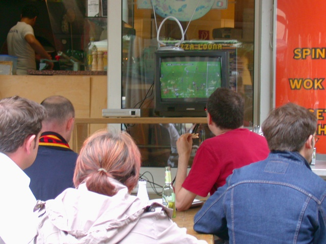 Berlin Football World Cup Public Viewing 2006