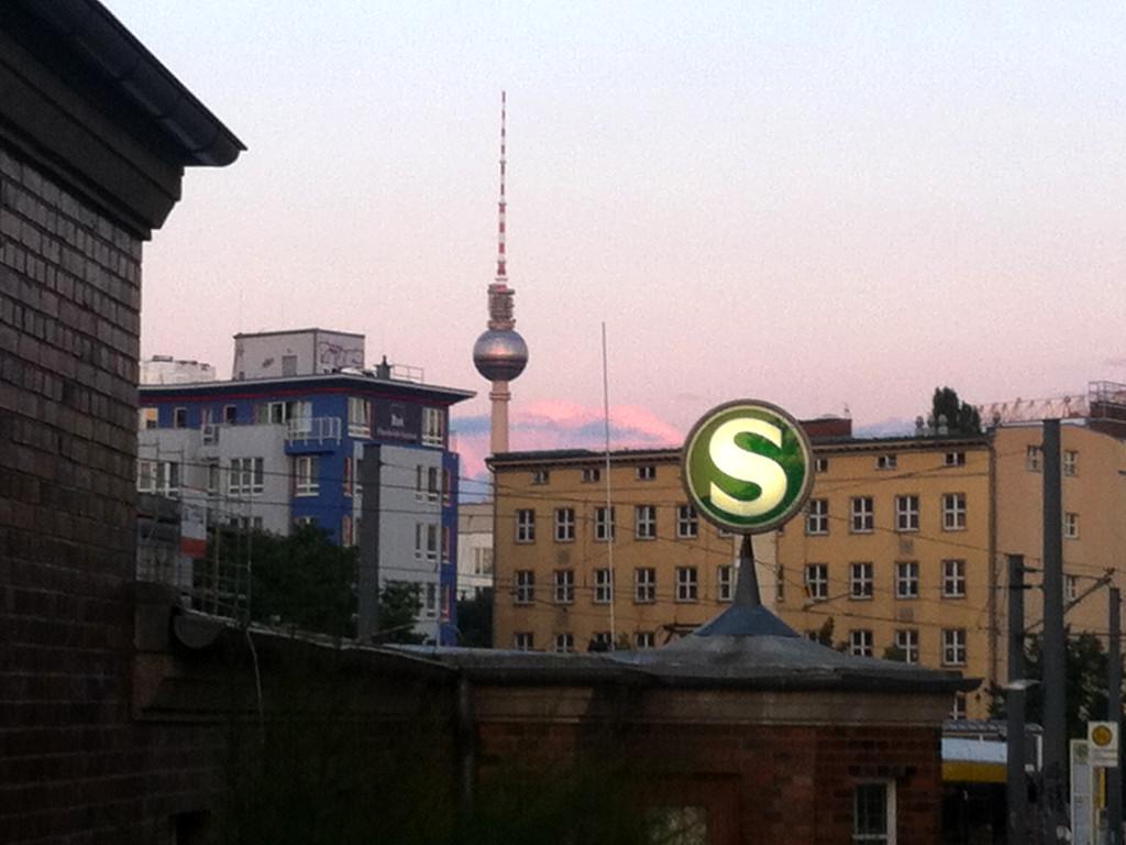 S-Bahn Berlin station Nordbahnhof