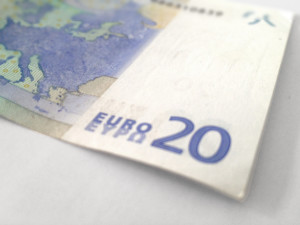 Berlin Money – German currency: a 20 Euro bill