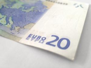 Berlin Money – German currency: a 20 Euro bill