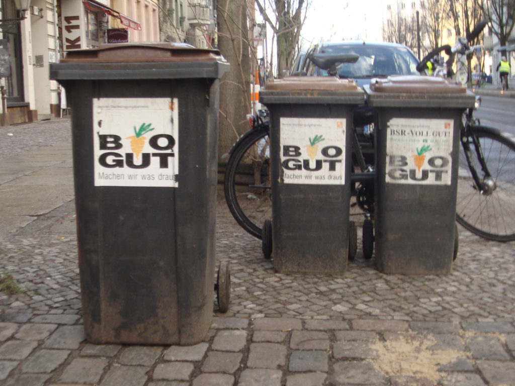 Biodegradable waste bins Berlin