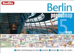 Berlin City Center PopOut Map