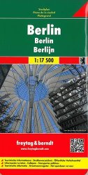 Berlin City Map, street index, Greater Berlin Area