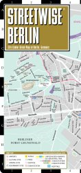 Berlin Streetwise Map Foldable