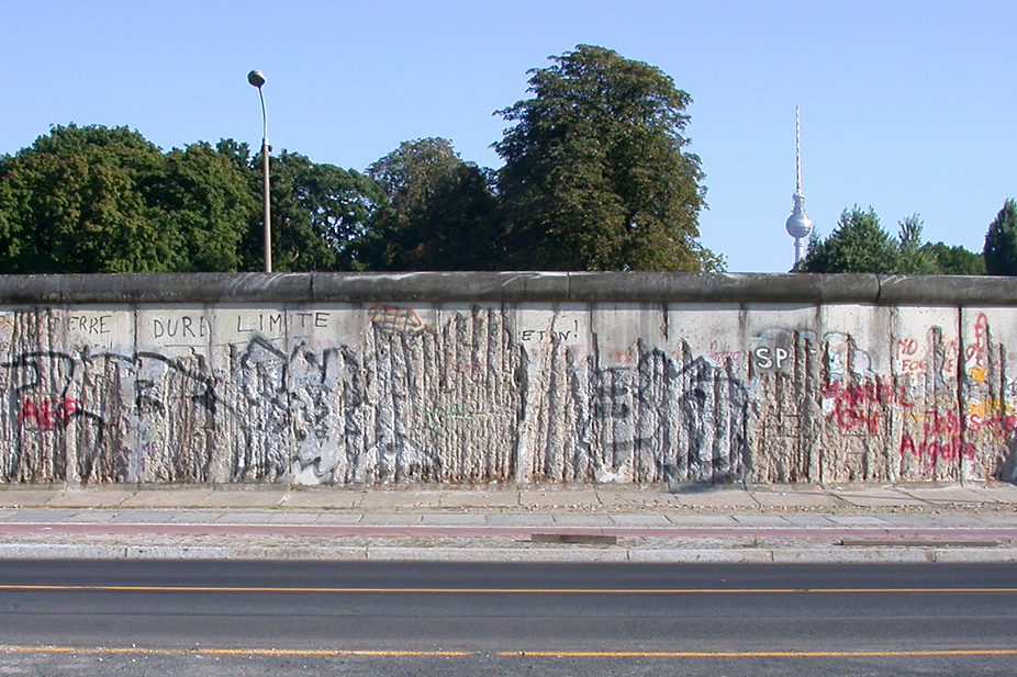 The Berlin Wall today: Memorial Bernauer Strasse