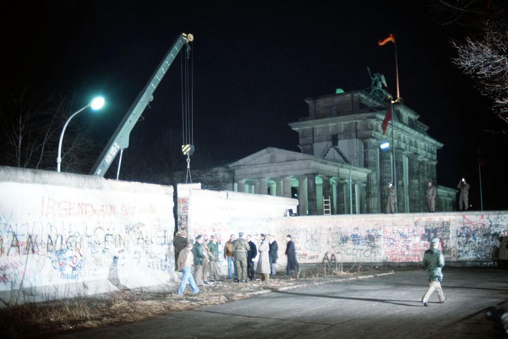 Fall of the Berlin Wall Berlin Brandenburg Gate