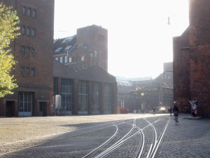 Picture of historical AEG company ground Berlin Wedding