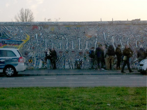 The Berlin Wall today: East-Side-Gallery