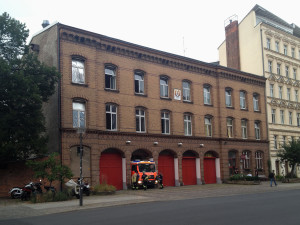 picture of historical Fire Station Oderberger Strase Berlin Prenzlauer Berg