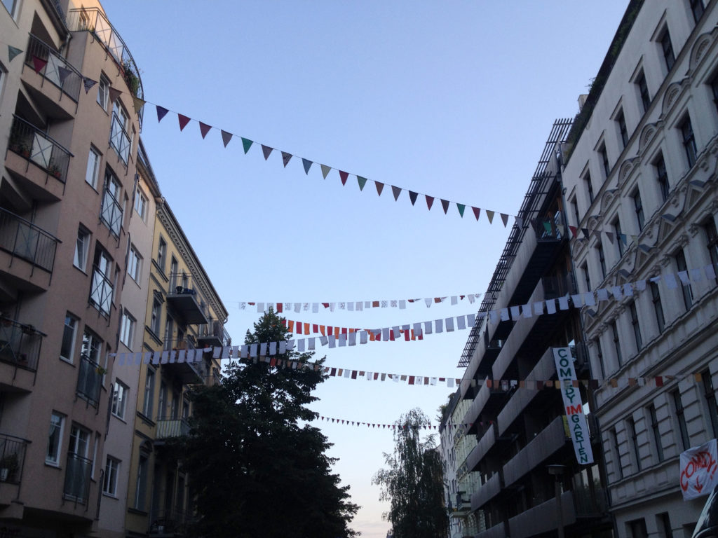 Berlin Choriner Strasse - Flags and Festoons
