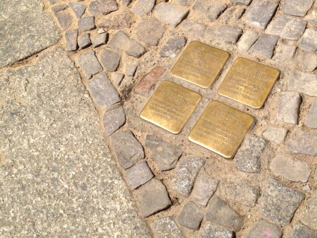 Berlin Stolpersteine Stumbling Blocks