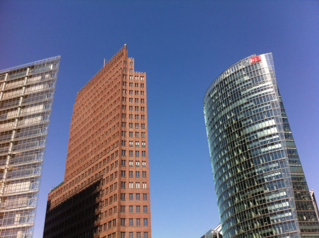Potsdamer Platz Berlin - High Rise Buildings