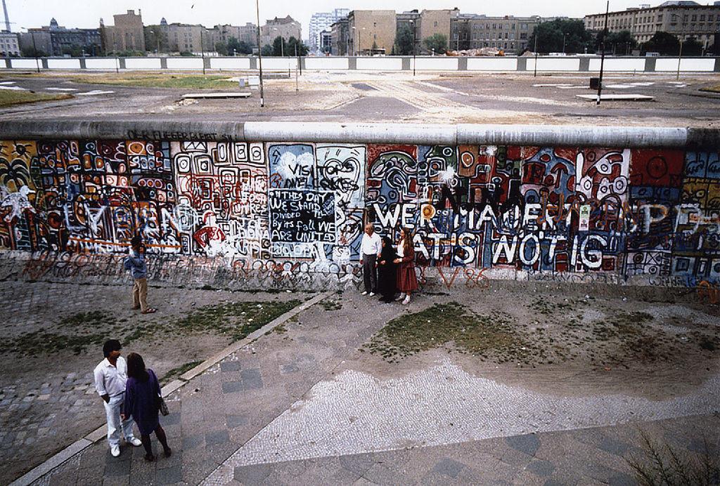 Berlin Wall Potsdamer Platz 1986