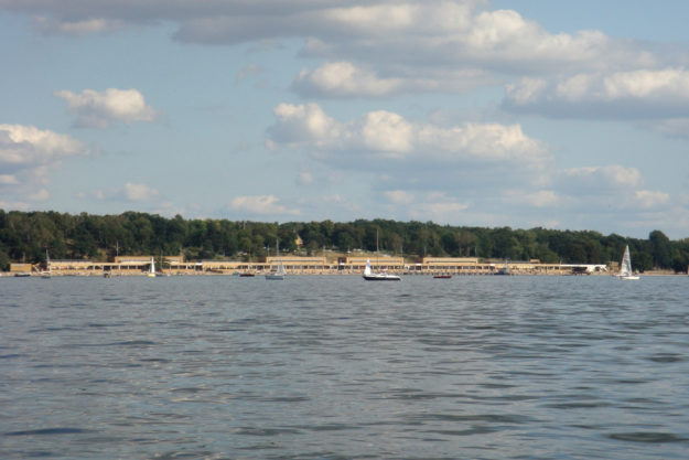 Berlin lakes: Strandbad Wannsee bathing beach lido