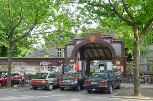 RAW-Area Berlin-Friedrichshain Entrance Revaler Str Tor1