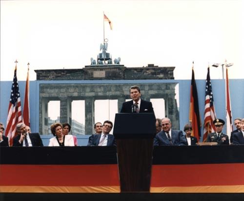 Ronald Reagan Berlin Wall Speach