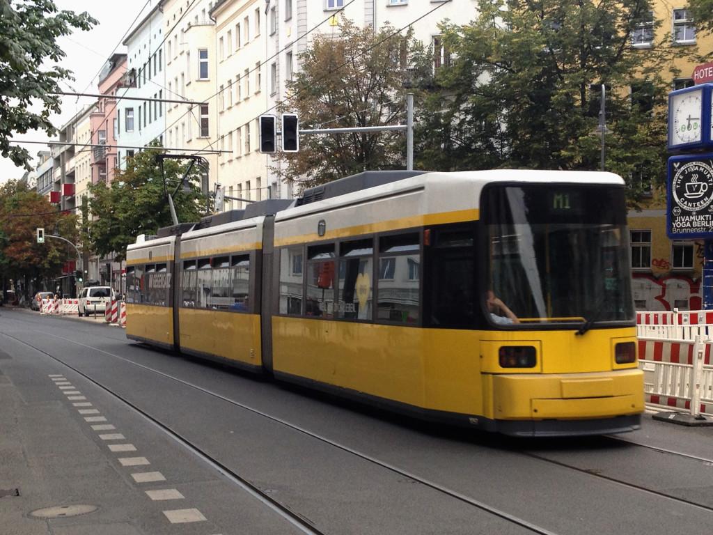 Berlin public transport: a Tram / streetcar