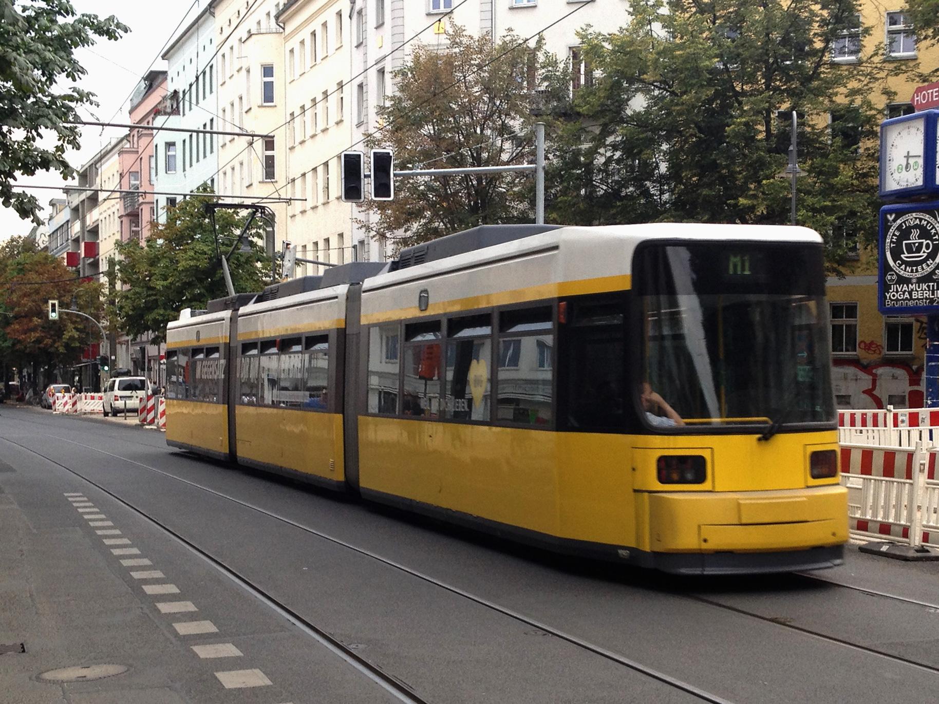 berlin public transport the tram grid. Black Bedroom Furniture Sets. Home Design Ideas
