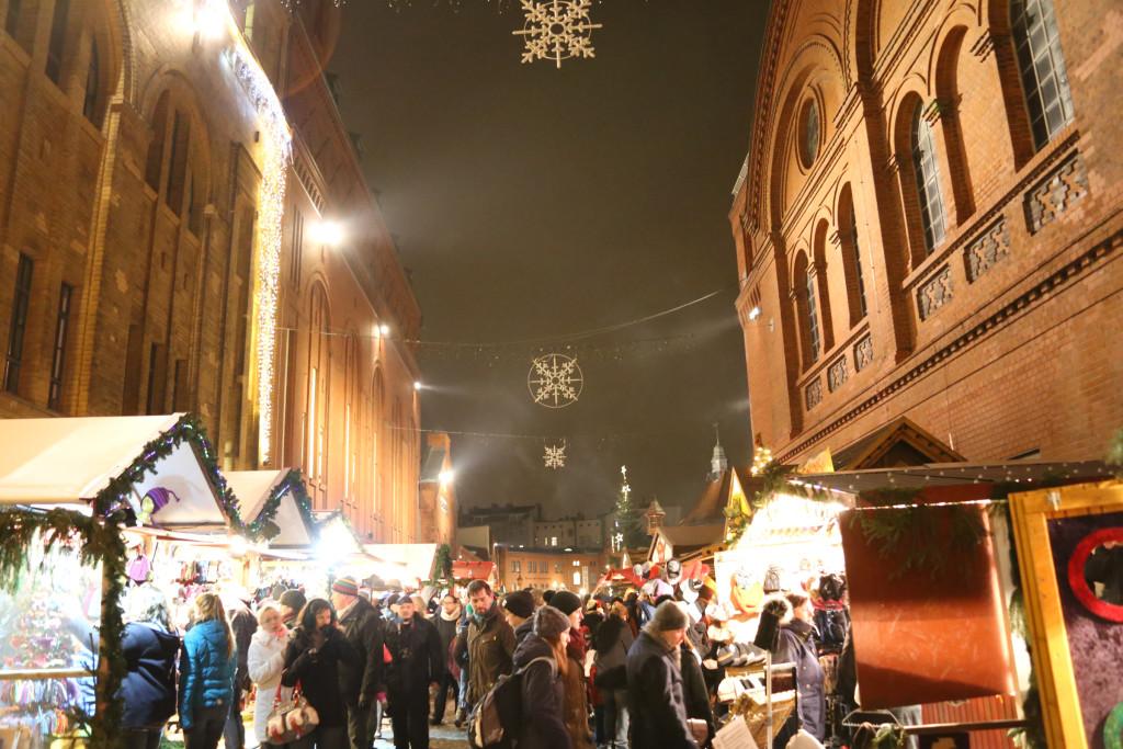 Berlin Christmas Market Lucia at Kulturbrauerei Prenzlauer Berg