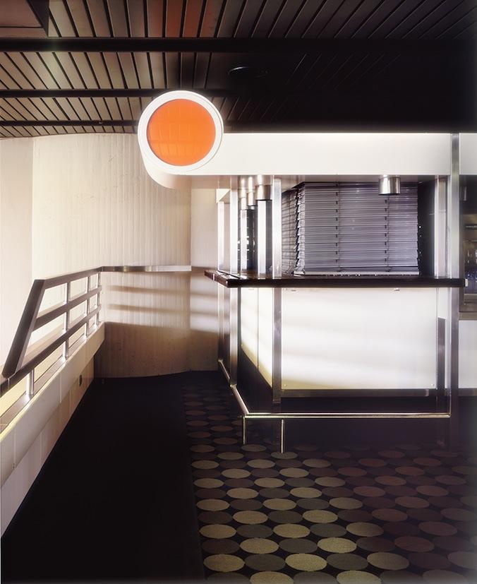 Design-Details Kiosk inside ICC  © Claus Rottenbacher