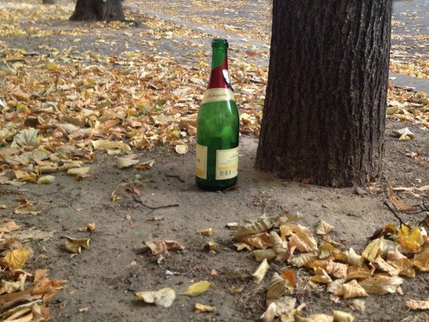 Berlin public drinking: private party in Berlin