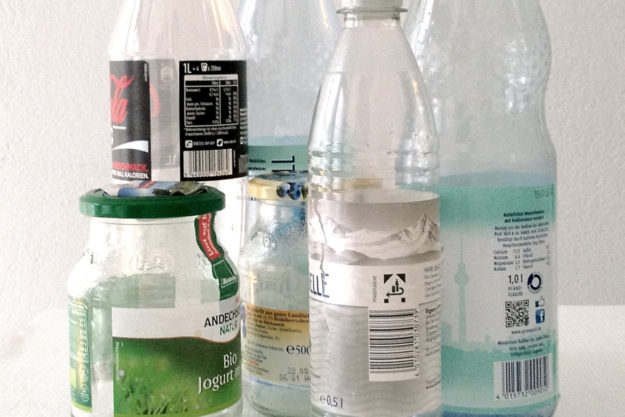 Berlin recycling: returnable bottles