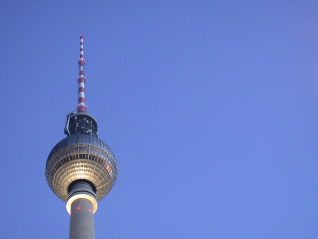Berlin TV Tower at Alexanderplatz
