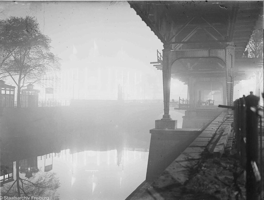Historical Photo Berlin Kreuzberg Moeckernbruecke Landwehrkanal Hochbahn