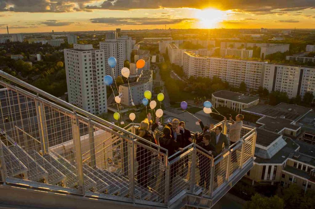 Berlin Observation Deck Skywalk Marzahn