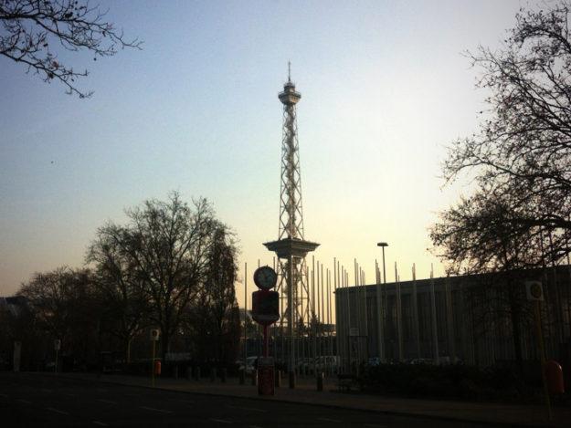 West Berlin Funkturm Radio Tower