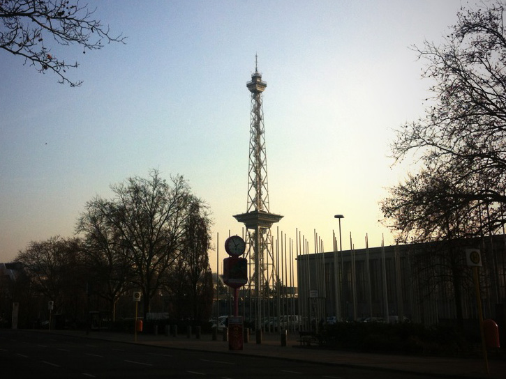 West Berlin Funkturm Radio Tower