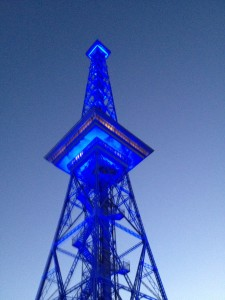 Berlin Radio Tower Funkturm - Festival of Lightslights-festival