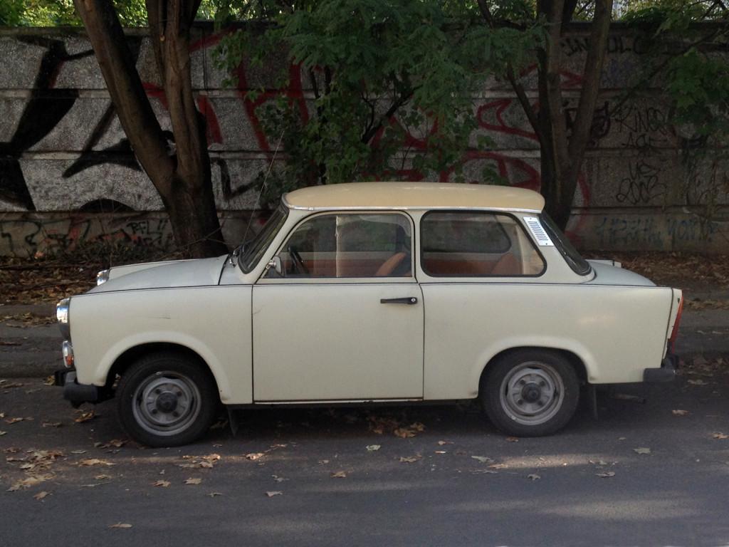 25 Years of German Unity –Photo of East German car Trabbi: Trabant 601s