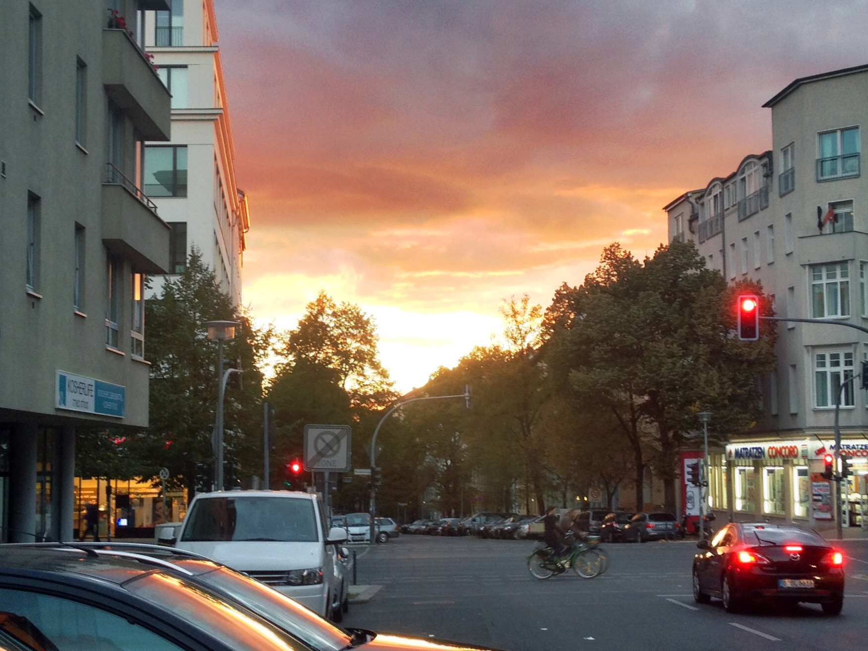 Photo: Berlin Sunset – Weather in September