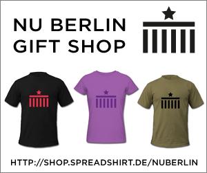 nu Berlin Gift Shop: T-Shirts, Coffe Mugs