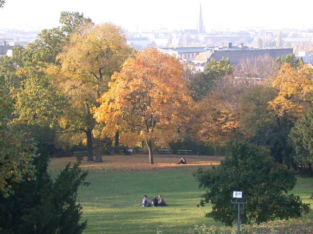 Viktoriapark Kreuzberg in Autumn - Chilling in the Park