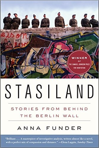 Berlin Books: Stasiland- Stories from Behind the Berlin Wall by Anna Funder