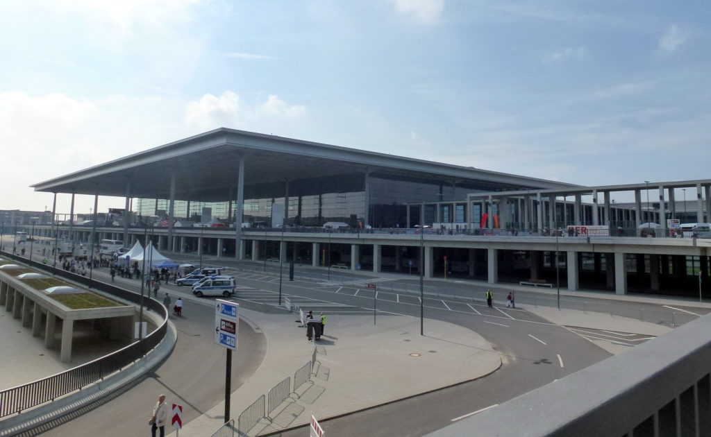 New Berlin Airport BER Terminal