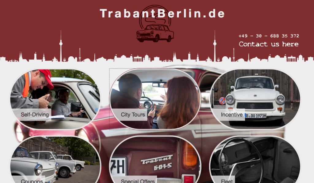 Trabant Berlin - rent and drive a Trabi in Berlin