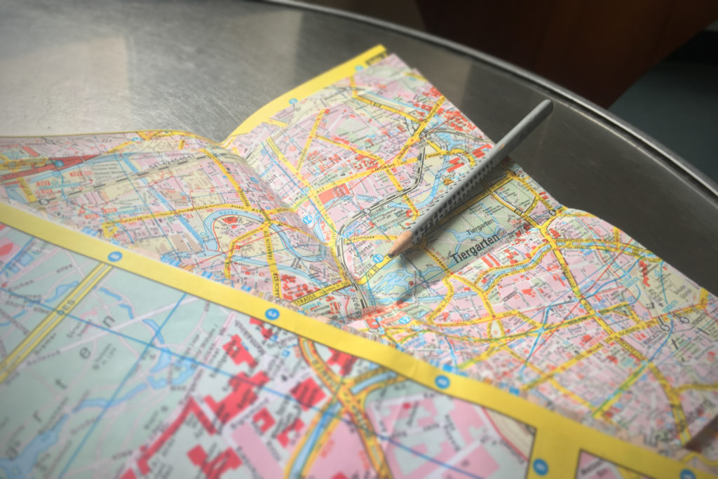 Berlin maps: street maps, transport map, historical maps, …
