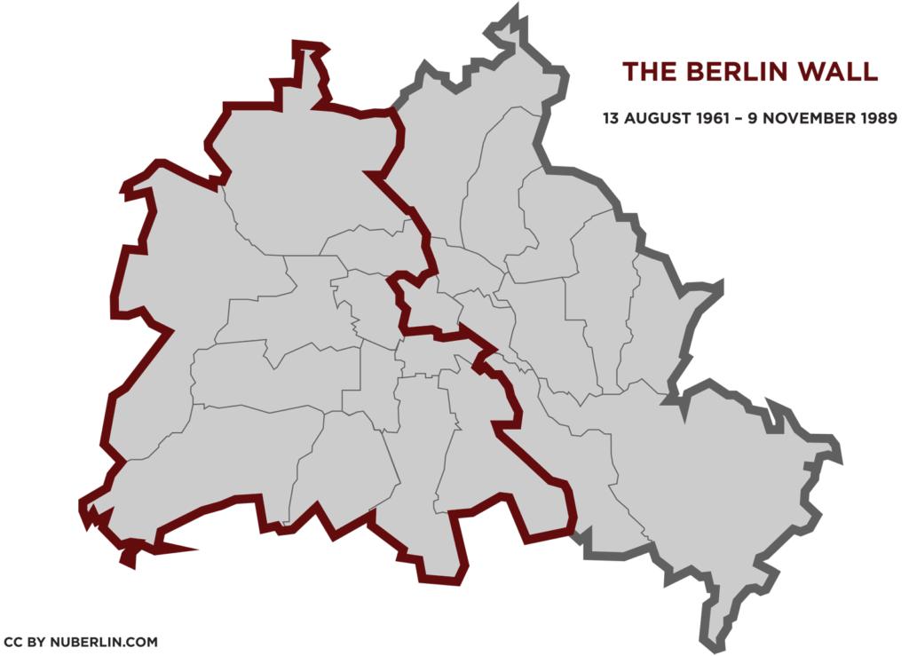 Berlin map PDF - The Berlin Wall 1961-1989