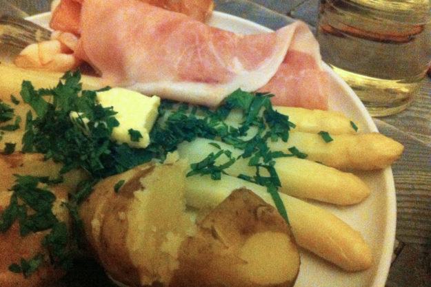 Asparagus Recipe Spargel Potatoes Ham