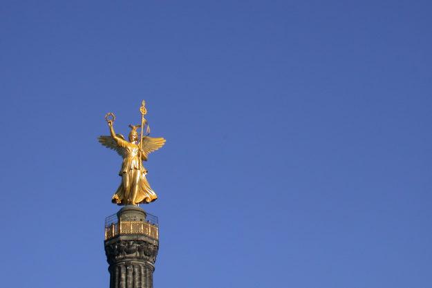 Berlin Victory Column Siegessaeule Abgel Victoria