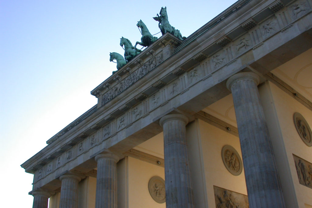Brandenburg Gate Quadriga Berlin Mitte