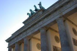 Brandenburg Gate Quadriga Berlin Mitte