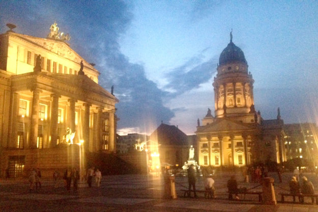 Berlin Gendarmenmarkt Concert Hall French Cathedral