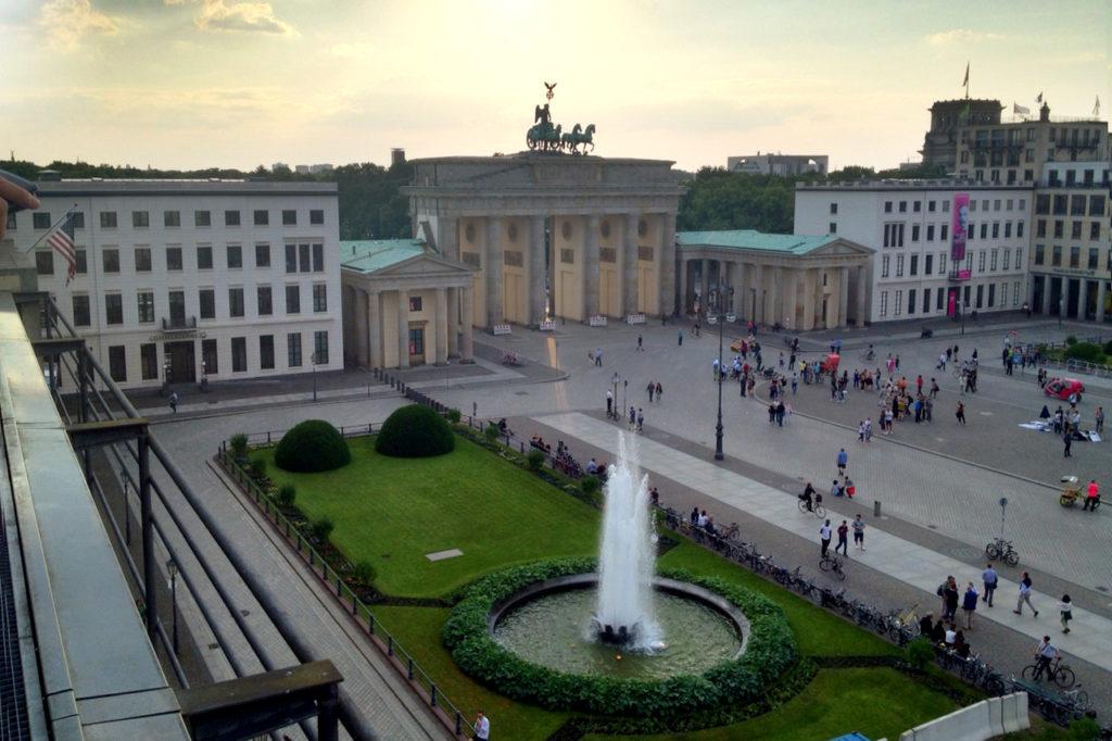 Berlin Pariser Platz, Brandenburg Gate
