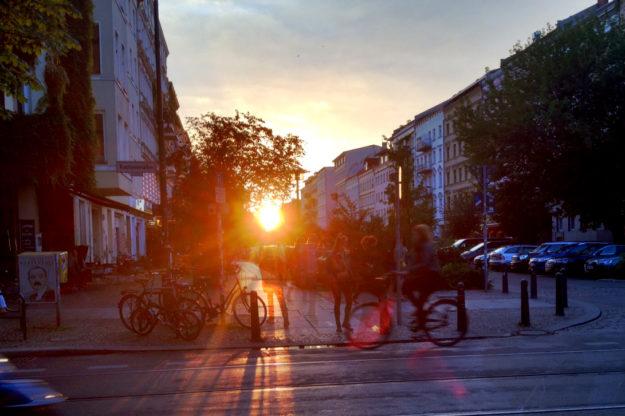 Berlin Summer Sunset July 2016